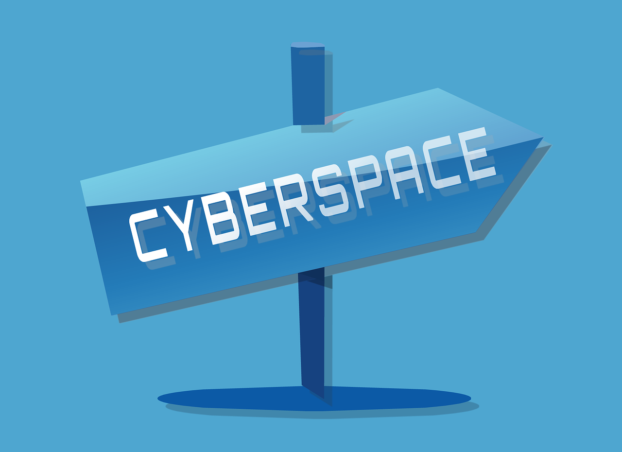 cyberspace sign